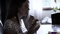 Hot Russian teen Elena Koshka gave her tight pussy to her older boyfriend Ryan Driller.He licks her fresh pussy and ended up with a hot creampie. thumbnail