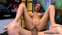 Anal dp and bukkakes on russian milf elen million