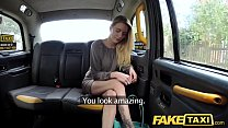 Fake Taxi New driver fucks hot blonde passengers soaking wet pussy preview image