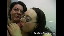 Cumming into two mature ladies mouths pornhub video