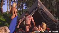 Brazzers - Storm Of Kings XXX Parody Part 2 Aruba Jasmine and Peta Jensen and Ro