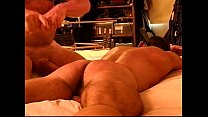 CBT and Paddling of hot restrained dude.