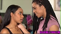 Ebony girlfriend wants more then a little mouth... Thumbnail