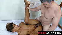 Asian Twink Barebacked By Doctor After Ass Play