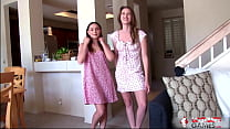 Aften and Ashley Lose Clothes One Memory Fail a...