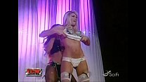 Kelly Kelly & Candice Michelle Expose Striptease