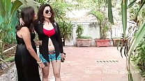 Young desi girl with student short film