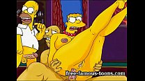 Mature Marge Simpson cheating hentai