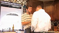 Secret affair for two husbands that are in love with anal