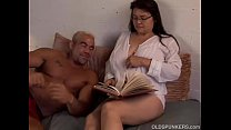 Beautiful big tits MILF Patty loves the taste of cum thumbnail