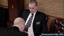 Mormon gets ass pounded
