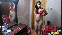 Indian Wife Sonia In Shalwar Suir Strips Naked Hardcore XXX Fuck image