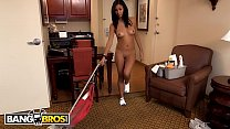 BANGBROS - Jade Jantzen, A Young Latin Maid With Nice Eyes And A Great Ass