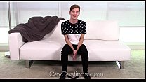 HD GayCastings - Young twink Lenox huge facial by amateur thumbnail