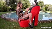 Inked goddess lauren fucks her own pussy to orgasm » indian real sex thumbnail