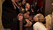 Anal service sluts fucked at bdsm party