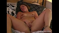 Kinky Stacey Fingers Her Twat