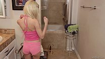 Daddy sniffing her Step Daughter Piper Perri's panties video