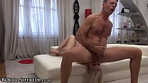 Rocco Siffredi's Cock in Amateur Teen Ass & Dildo DP's her Pussy! video