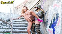 MAMACITAZ   Horny Soldier Fucks Hard His Latina