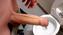 Foreskin in Public Washroom