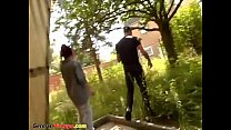 round ass teen picked up for sex in nature
