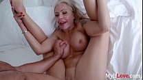 Feeling MOM's coochie with my DICK- Nina Elle