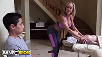 BANGBROS   Busty Blonde Masseuse Brandi Love Se