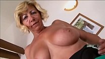 Busty granny with amazing ass likes cock black [할머니 granny]