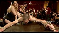Man sex slave in middle of mistress ritual is f...