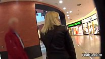 Striking Czech Teenie Is Tempted In The Hypermarket And Penetrated In Pov