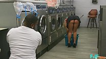 FILF - MILF Katie Morgan Takes Multiple Loads At The Laundromat