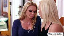 Two hot blondies Tiffany and mom Briana goes 69... Thumbnail