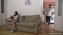 She rides father in law cock Preview