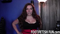 I will punish you with my feet's Thumb