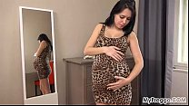 Modeling Outfits at 40 Weeks Pregnant!