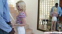 Tiny Teen Spinner Piper Perri Fucks At the Office