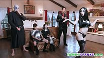 Adams Family Doing Wild Orgy