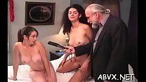Teenies spanked and drilled
