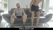 FamilyDick - Rebellious Stepson Gets His Tight Ass Barebacked