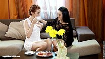 Coffeetime Tryst - by Sapphic Erotica lesbian s...