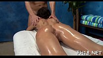 Sexy hot babe fucks and sucks her masseur pornhub video