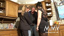 MMV Films Two mature wifes sharing a cock image