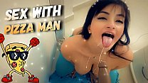 Roleplay Sex With Pizza Man   Gostosa Chupando