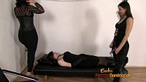 Sissy Dominated By Two Rough Mistresses - 69VClub.Com