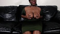Big Black Booty BBW Cumming For An Interview preview image