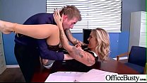 Hard Sex Tape In Office With Naughty Busty Hot Girl (Kleio Valentien) video-14