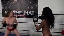 10425 Interracial Foxy Boxing Topless preview