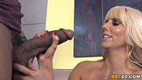 Busty MILF Karen Fisher Fucks Black Dick's Thumb