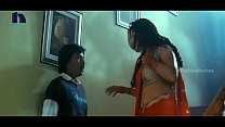 Screenshot Lakshmi Rai  In Red Saree Lawrence And Lakshmi R...